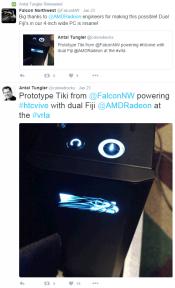 AMD teases PCs with Radeon Fury X2 Dual FIJI GPUs