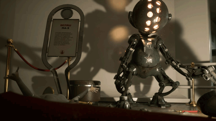 Atomic Heart RTX Technology Demo download