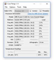 Core Temp 1.11 Download