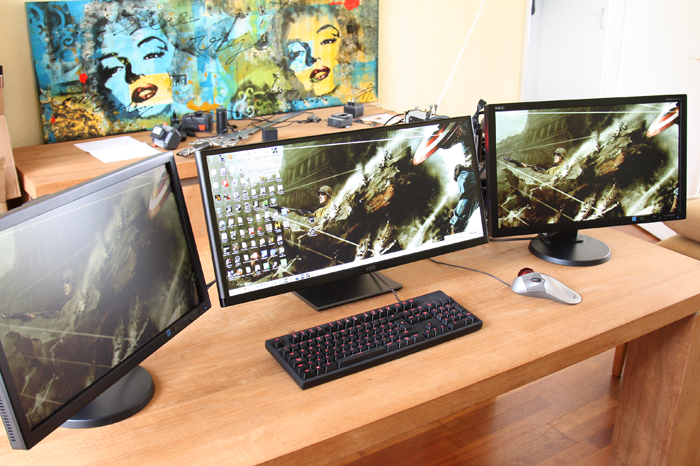 AMD Eyefinity 3-panel Mixed Resolution review - Introduction