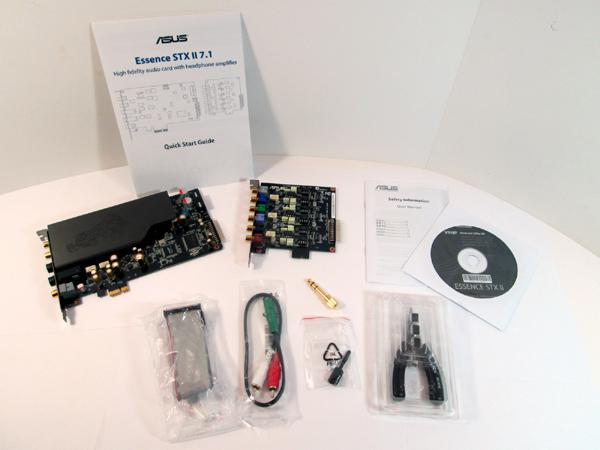 Asus Essence Stx Ii 7 1 Sound Card Review The Essence