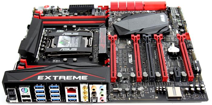 Asus X99 Rampage V Extreme Review Product Showcase