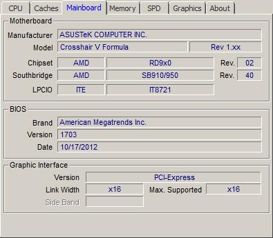 AMD FX 8370 and 8370E processor review - CPU-Z Screenshots