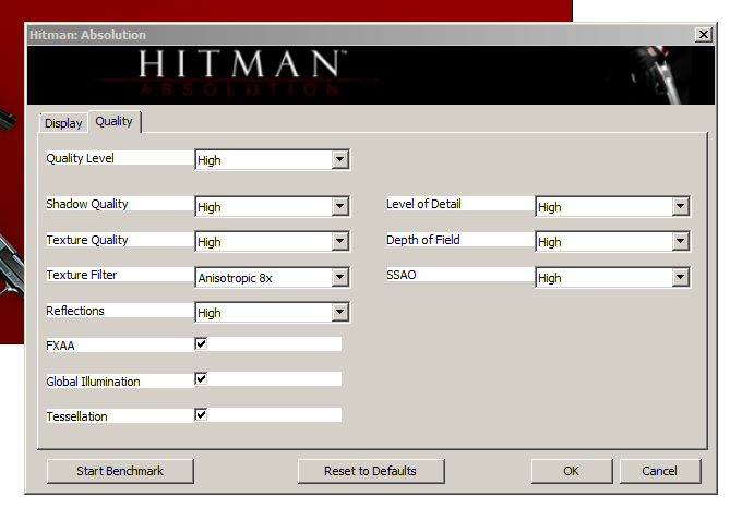 Hitman Absolution Vga Graphics Performance Review Image Quality