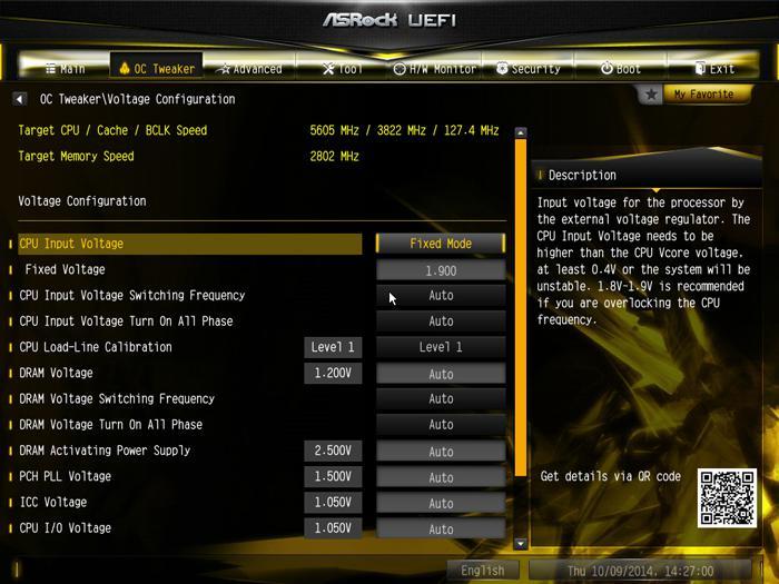 ASRock X99 OC Formula review - The UEFI BIOS