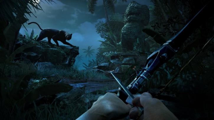 Far Cry 3 VGA Graphics Benchmark performance test - In-game screenshots