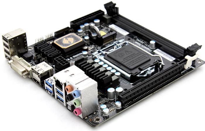 NEW ECS Z97I-DRONE LGA 1150 Intel Z97 HDMI SATA III USB 3.0 Mini ITX Motherboard