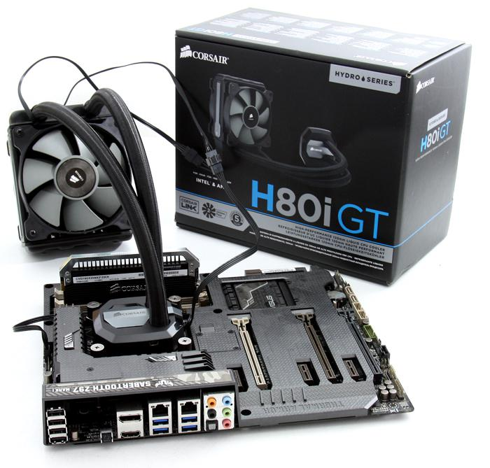 Corsair H80i Gt Review Product Installation