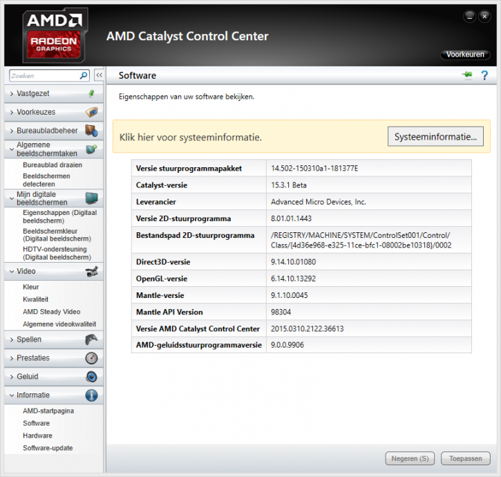 AMD Catalyst Display Drivers 14.4 WHQL (x86/x64)