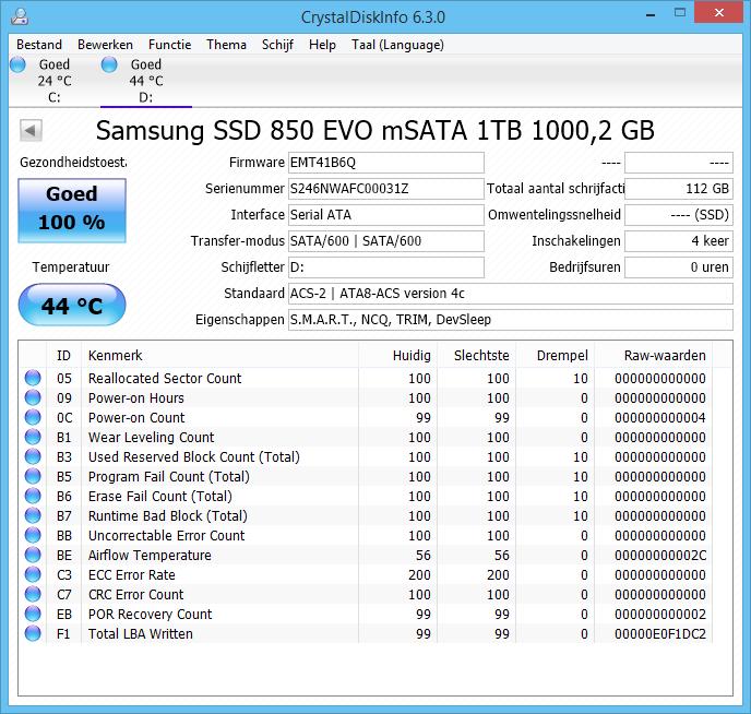 Samsung 850 EVO M 2 and mSATA SSD review - Installation