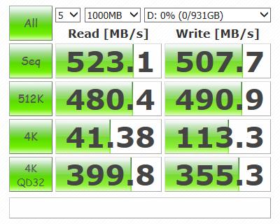 Samsung 850 EVO M.2 120GB SSD