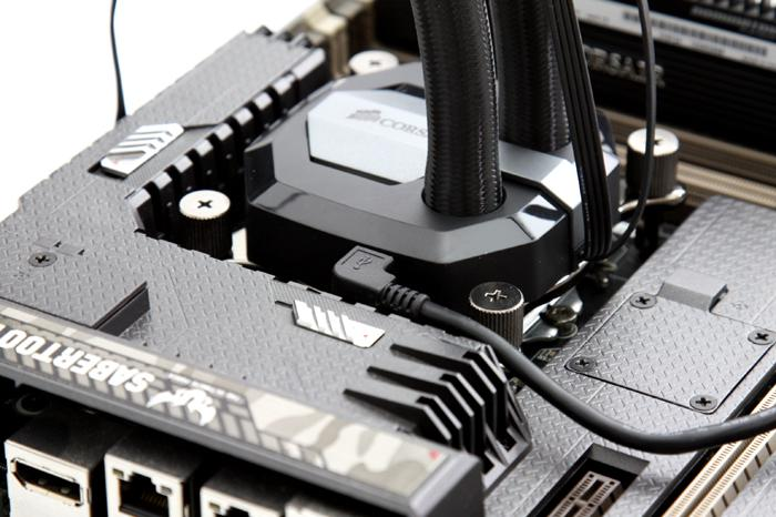 Corsair H100i GTX review - Product Installation