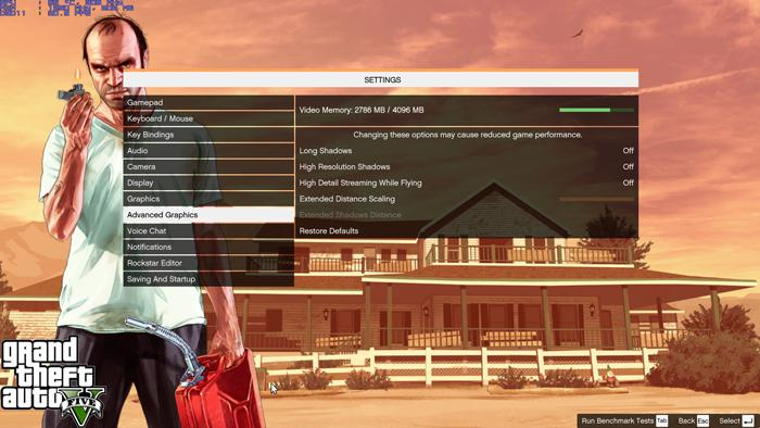 GTA-V PC Graphics Performance Review - Image Quality Settings and