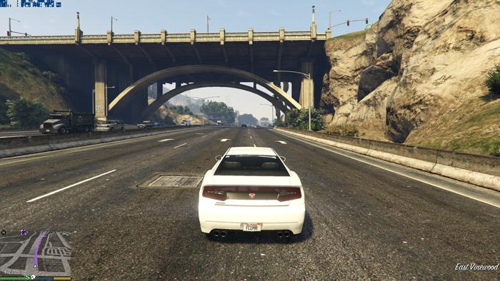 GTA-V PC Graphics Performance Review - Video memory usage