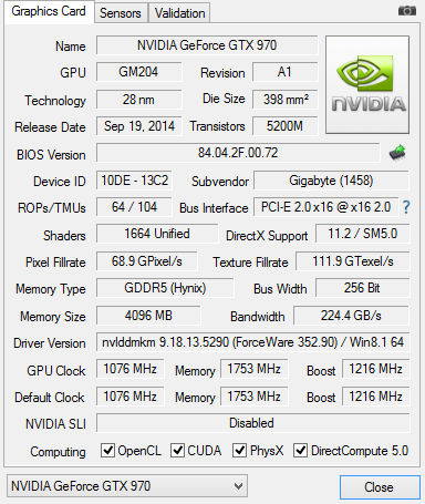 Gigabyte GeForce GTX 970 OC Mini-ITX review - Overclocking The