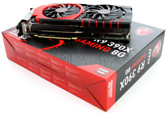 MSI Radeon R9 390X Gaming 8G OC review - Product Photos