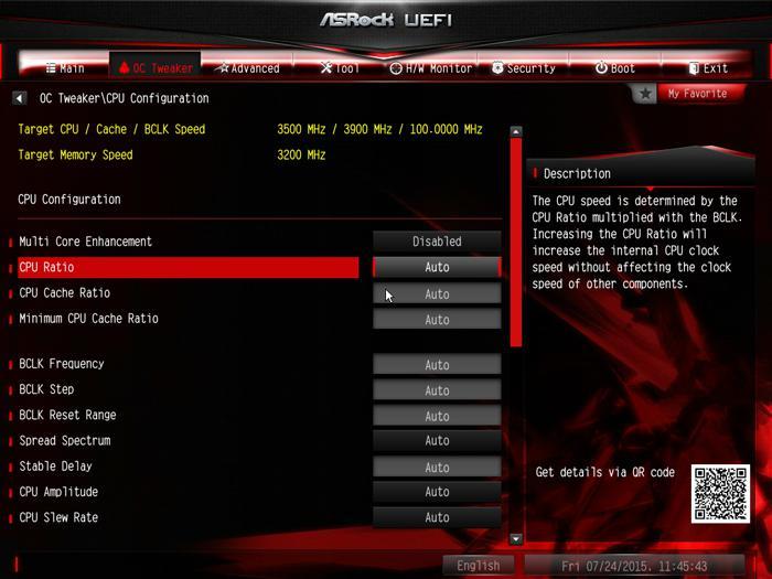 ASRock Z170 Gaming K6 Review - The UEFI BIOS