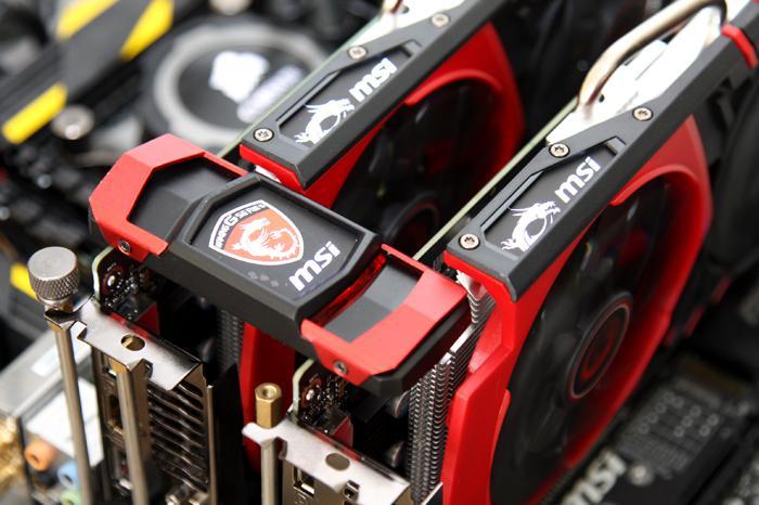 MSI GeForce GTX 950 Gaming + 2-way SLI review - GeForce GTX 950 2