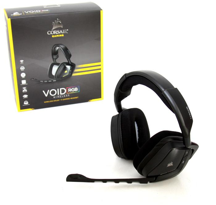 Corsair Gaming VOID RGB Dolby headset review - Showcase