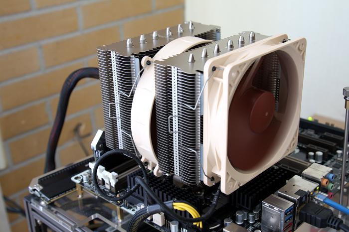 Cpu Cooler Group Test Review With 3770k Noctua Nh D14