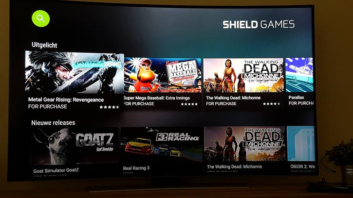 Nvidia Shield Android Tv Game Console Review Gaming