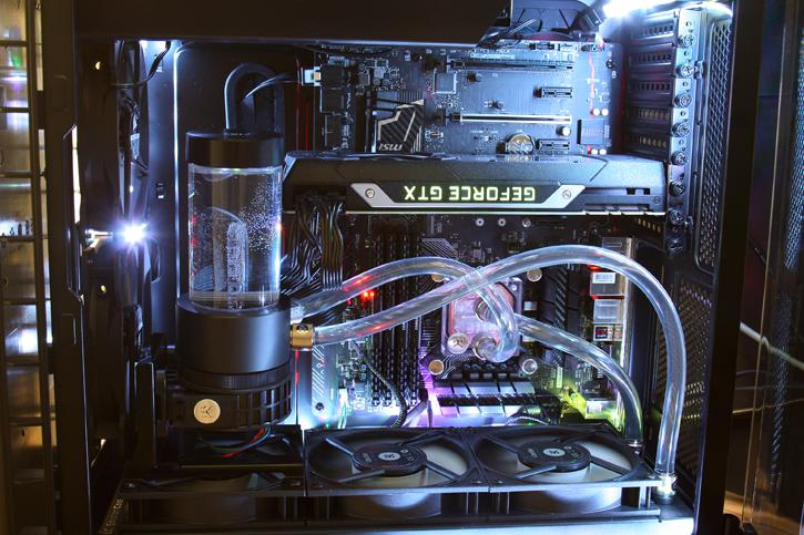 Ek P360 Performance Liquid Cooling Kit Review Product