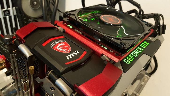 The New Bridges Can Be Used With Reference Cards As Well Latest TwinFrozr V Design Based MSI GeForce GTX Graphics