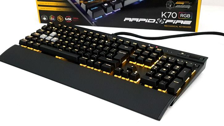 Corsair Gaming K70 RGB RapidFire keyboard review - Technical