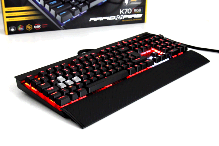 Tech House News: Corsair Gaming K70 RGB RapidFire keyboard review