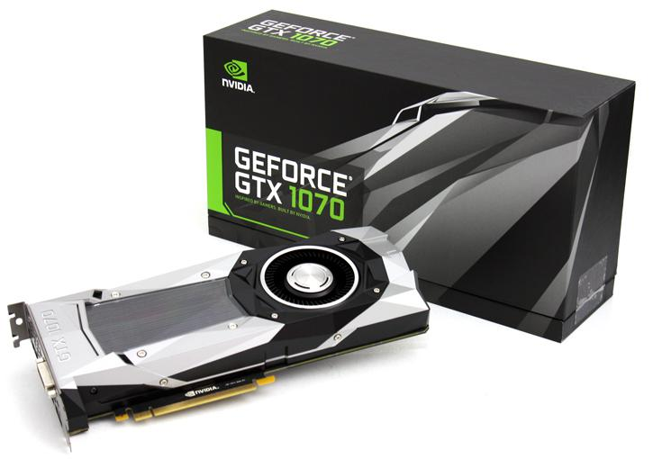 Nvidia GeForce GTX 1070 review - Product Showcase