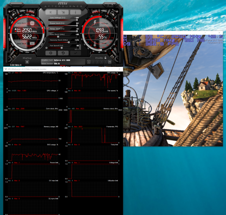 MSI GeForce GTX 1080 GAMING X 8G review - Overclocking The