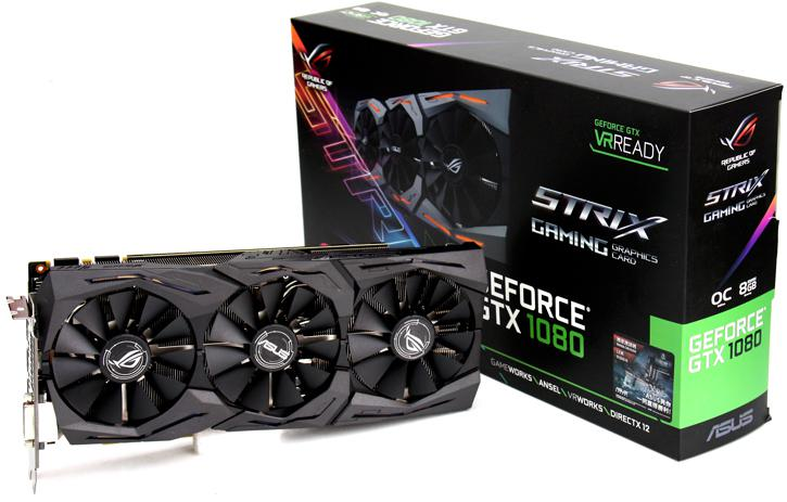 ASUS ROG Strix GeForce GTX 1080 review - Introduction