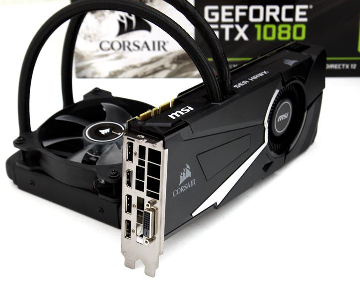 MSI GeForce GTX 1080 SEA HAWK X review - Introduction