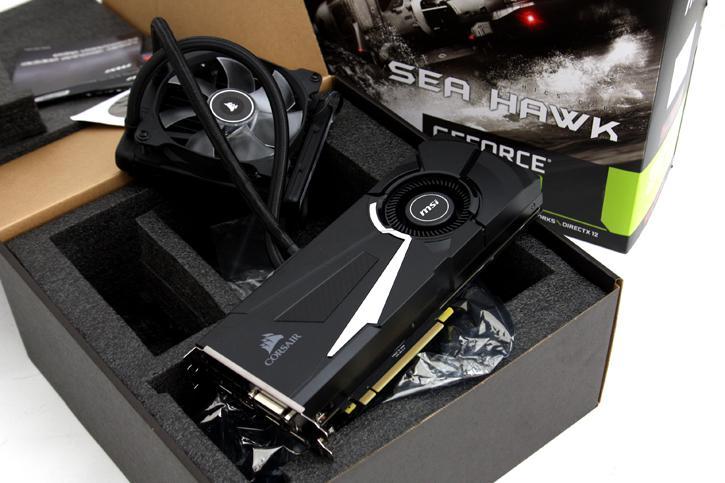 Msi Geforce Gtx 1080 Sea Hawk X Review Product Showcase