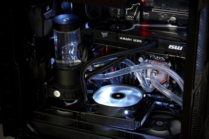 MSI GeForce GTX 1080 SEA HAWK X review - Product Showcase