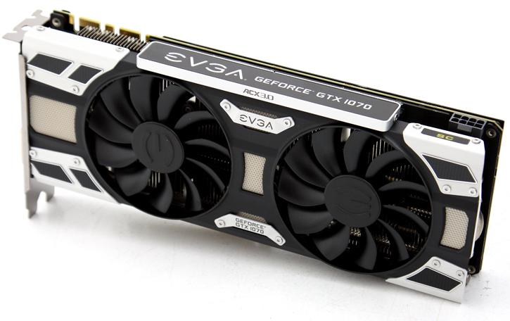 EVGA GeForce GTX 1070 SC Gaming review - Product Showcase