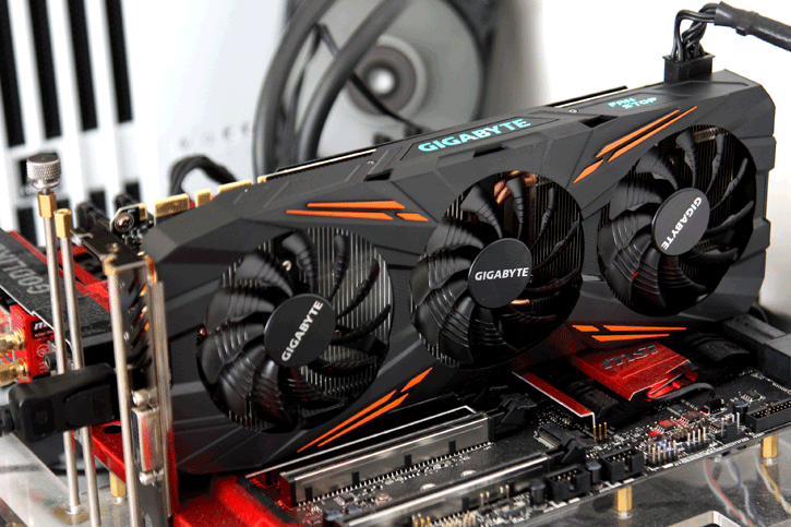 2 GeForce GTX1070 G1 Gaming 8GB Rev