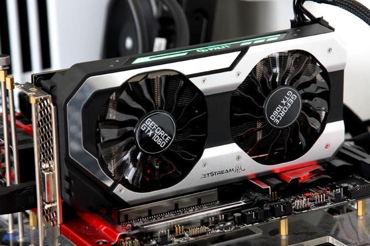 Palit GeForce GTX 1060 Super Jetstream Review - Product Showcase