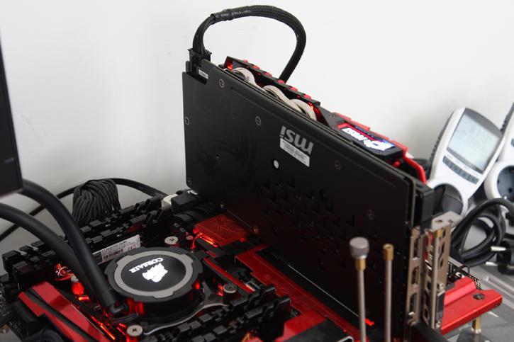 MSI GeForce GTX 1060 GAMING X Review - Hardware Setup | Power