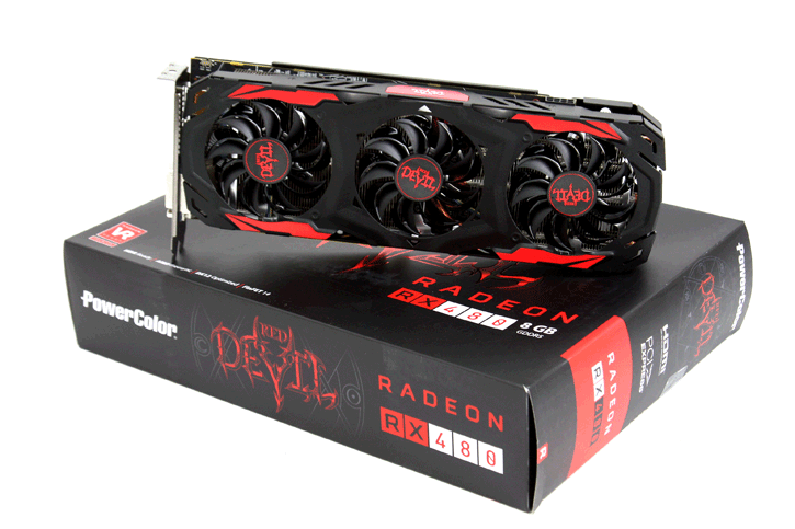 PowerColor Radeon RX 480 RED DEVIL review - Introduction