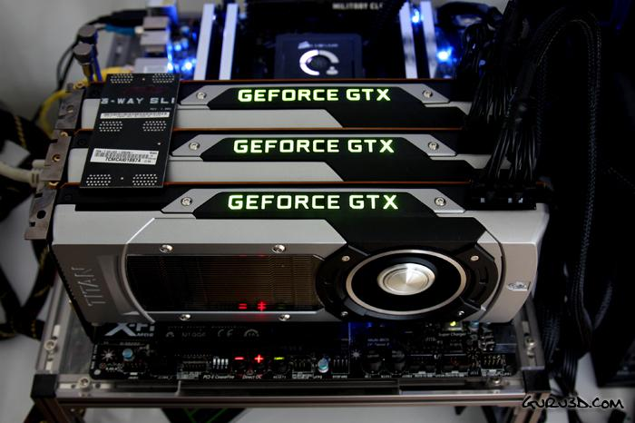 GeForce GTX Titan 3-way SLI and Multi monitor review - Multi
