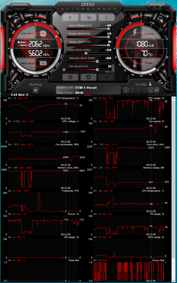 Nvidia Titan X (Pascal) Extended Overclock Guide - Starting