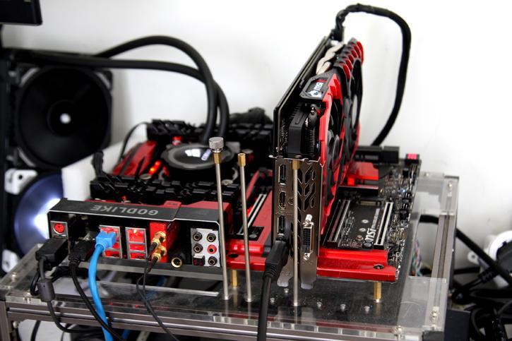 MSI GeForce GTX 1060 Gaming X 3GB Review - Hardware Setup