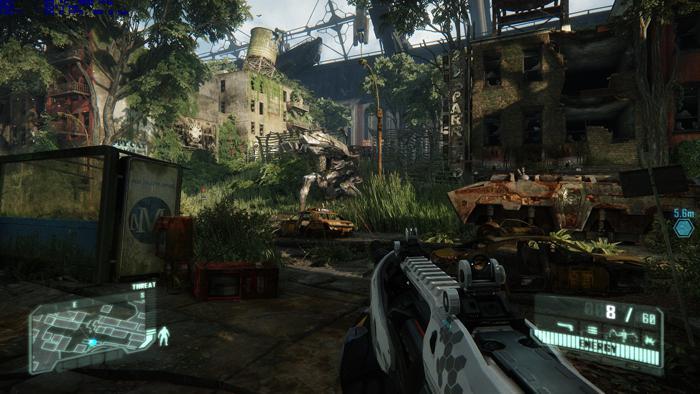 crysis 3 vga graphics benchmark performance test in game screenshots