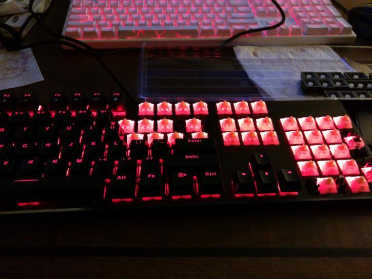 glorious modular mechanical keyboard review modularity