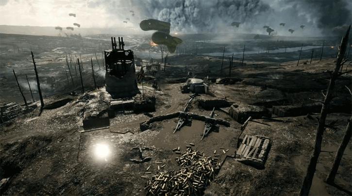 battlefield 1 crackling sound