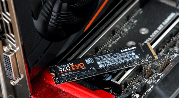 Samsung 960 EVO M 2 1TB NVMe SSD review - Product Showcase