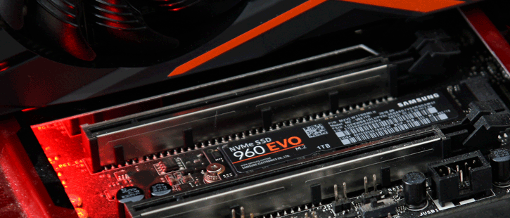 Samsung 960 EVO M 2 1TB NVMe SSD review - Installation & Recommendations
