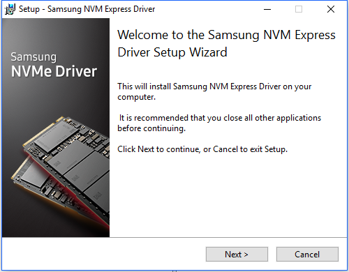 Samsung 970 PRO M 2 512GB NVMe SSD review - Installation