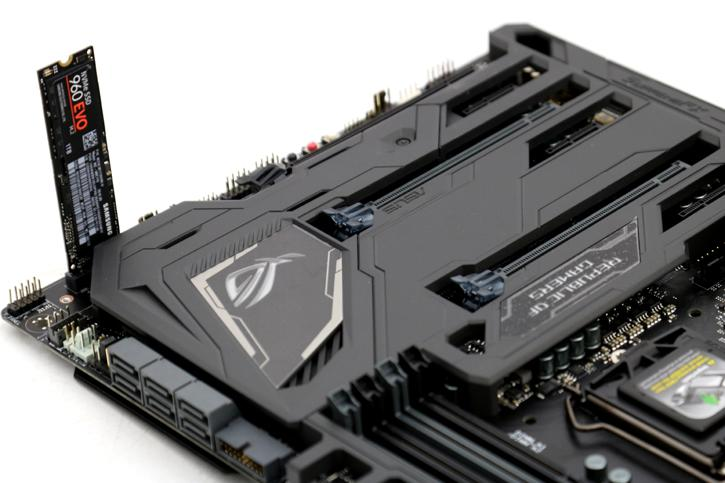 ASUS ROG Maximus IX Formula motherboard review - Performance M.2 PCI-E SSD Storage Performance